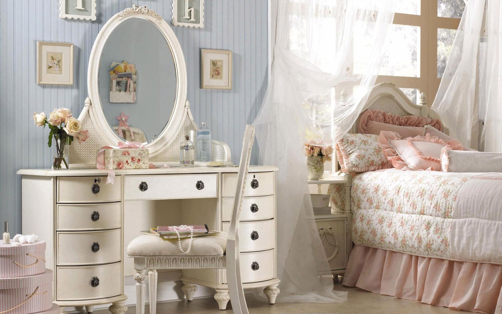 Смотреть онлайн женскую спальню 10 фотография
