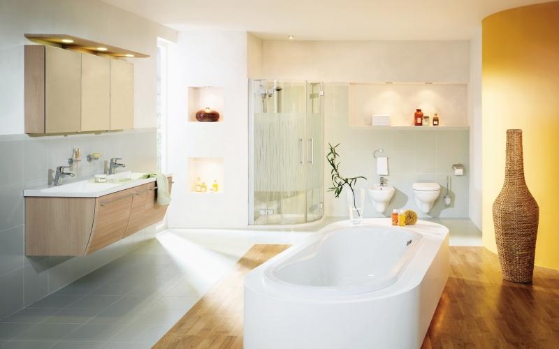 Стильная ванная фото 4