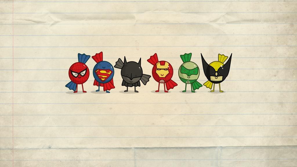 Картинки на рабочий стол супергерои 2