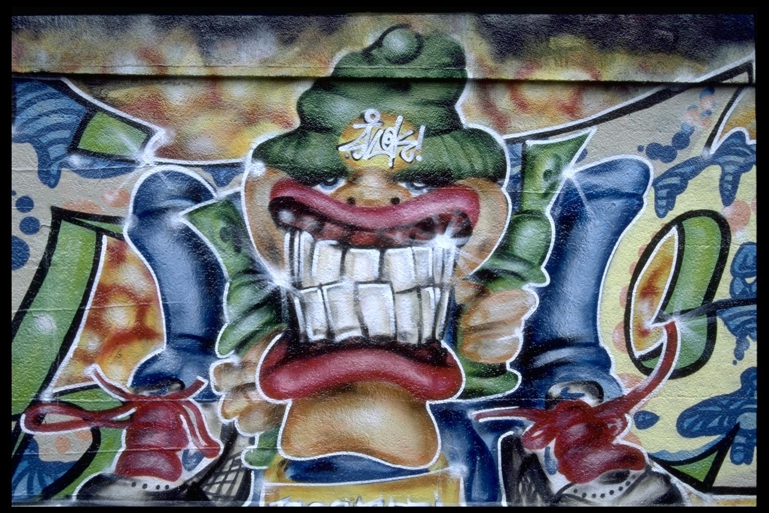 Самые пиздатые граффити vkontakte допускаете