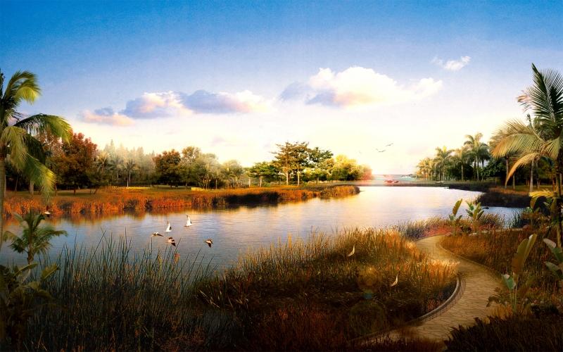 Картинка красивый пейзаж