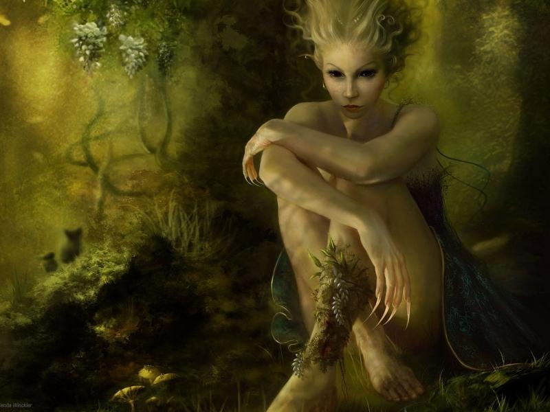 Картинки природа с девушкой