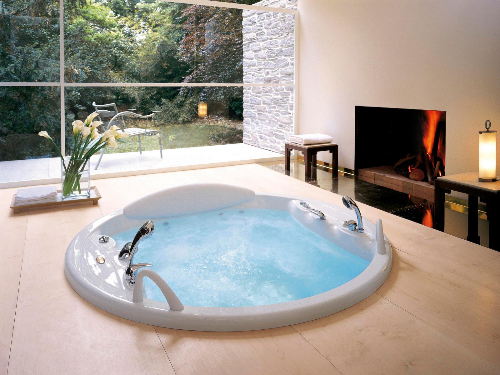Ванная комната с джакузи фото