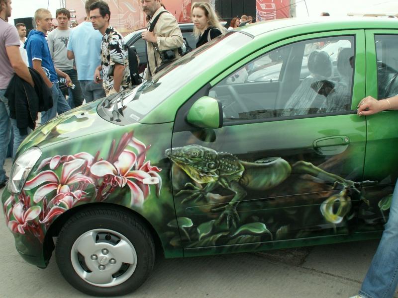 фото рисунки на машину