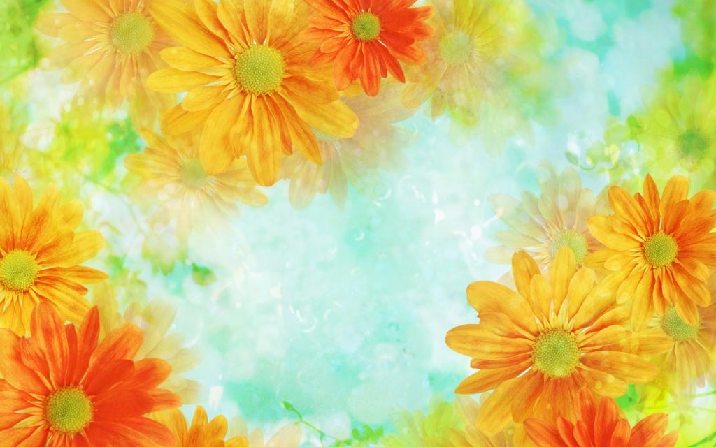 Картинки фон цветы 1